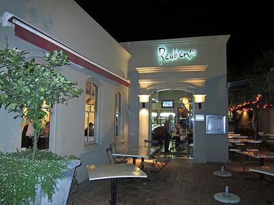 Franschhoek - Reuben's Restaurant.