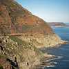 Road below Chapman's Peak.