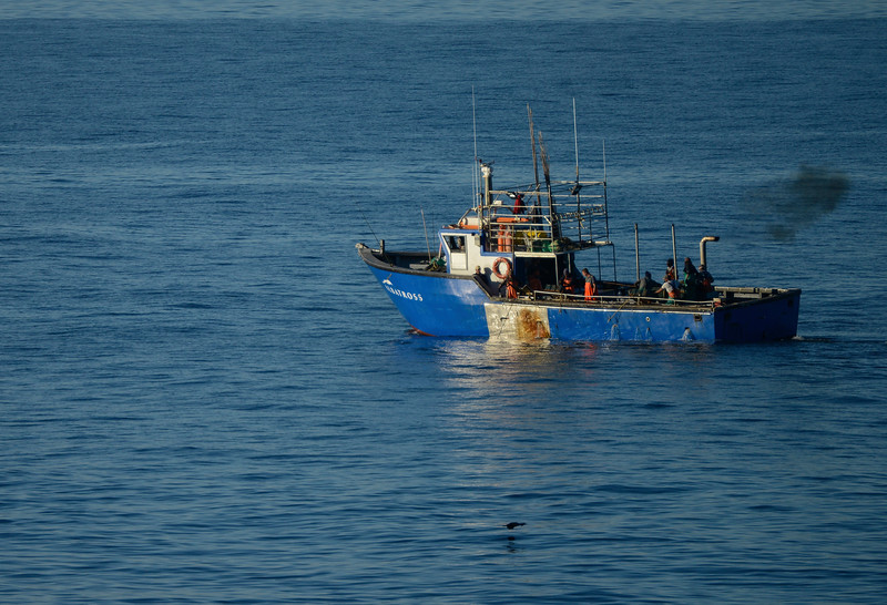 Fishermen off Cape Point.