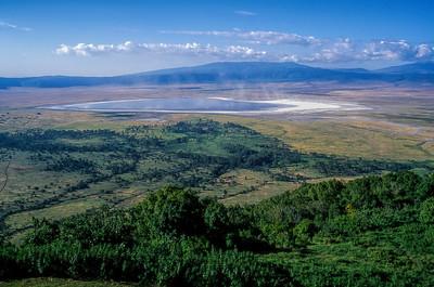 NGORONGORO CRATER, TANZANIA - JULY 1997