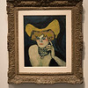Woman with necklace painting by Pablo Picasso, Israel Museum, Jerusalem, Israel