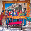 Street art on building wall, Jerusalem, Israel