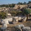 Ruins at archaeological site, Bet She'an National Park, Haifa District, Israel