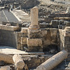 Ruins of building at archaeological site, Bet She'an National Park, Haifa District, Israel