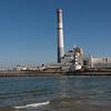 View of power station, Reading Power Station, Yarkon River, Tel Aviv, Israel