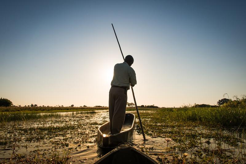 Mokoro, Okavanga Delta, Jao Camp, Botswana
