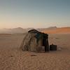 Himba Hut at Dusk