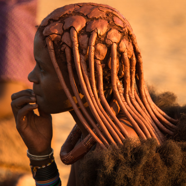 Himba Woman 5, Profile