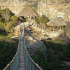 Oribi Gorge suspension bridge.