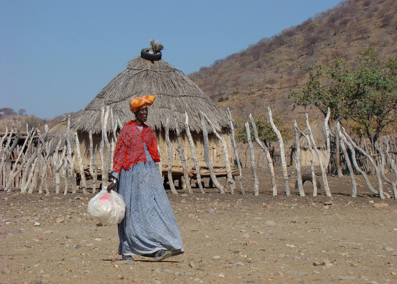 HERERO LADY - NAMIBIA