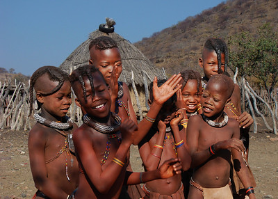 HIMBA KIDS - NAMIBIA