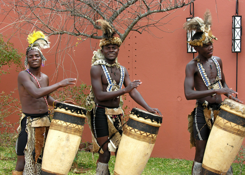African Tribe Dance Is a ndebele tribal dance,