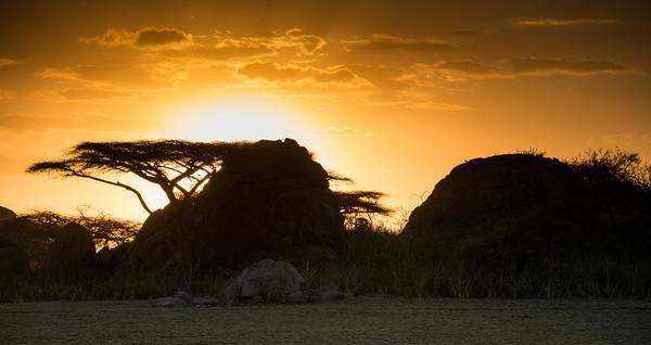 Masaii Sunset