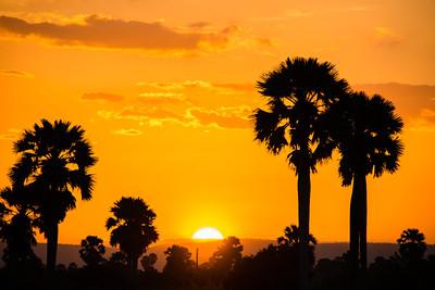 Sunset, Selous Reserve