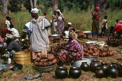 GAOUA POTTERY MARKET - BURKINA FASO