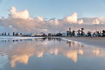 Essaouira, reflets, Maroc, plage