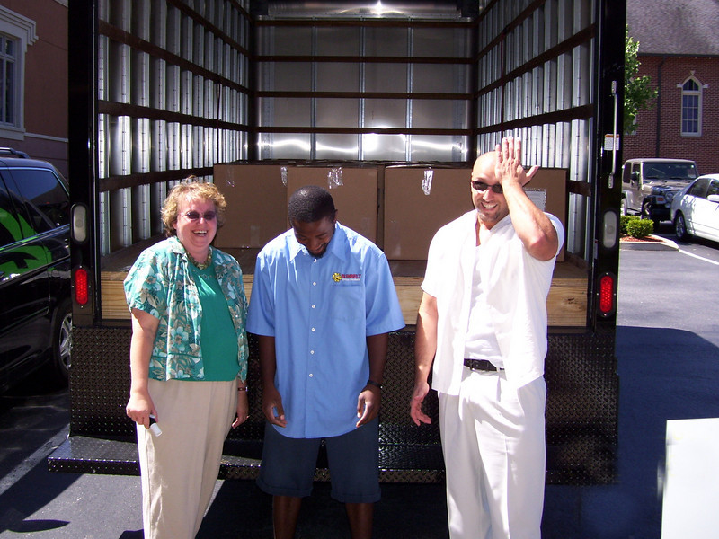 Tammy Allison worked with SunBelt Office Supplies to get the shipment in the mail.