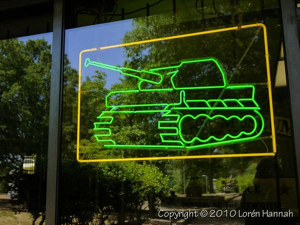 Cool Neon Tank Sign
