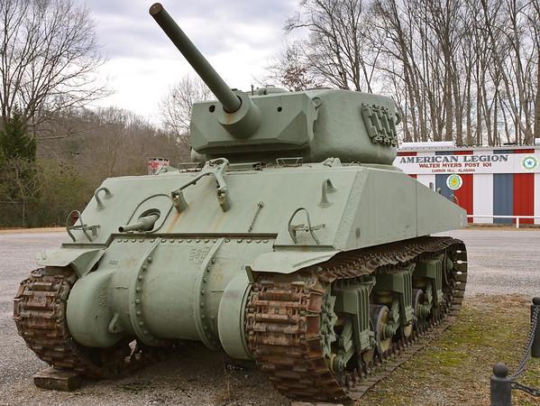 AL Post # 101 - Carbon Hill, AL - M4A3E2 Jumbo