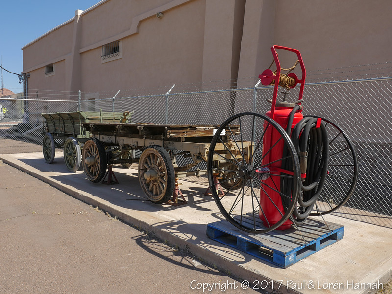 Early Wagon, Trailer Model 212 and Fire Fighting Cart