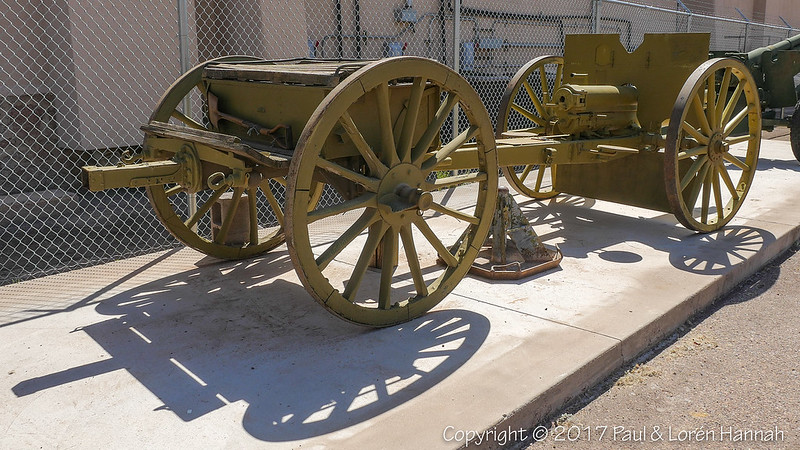 "1911 3"" Field Gun Model 1905 and Limber"