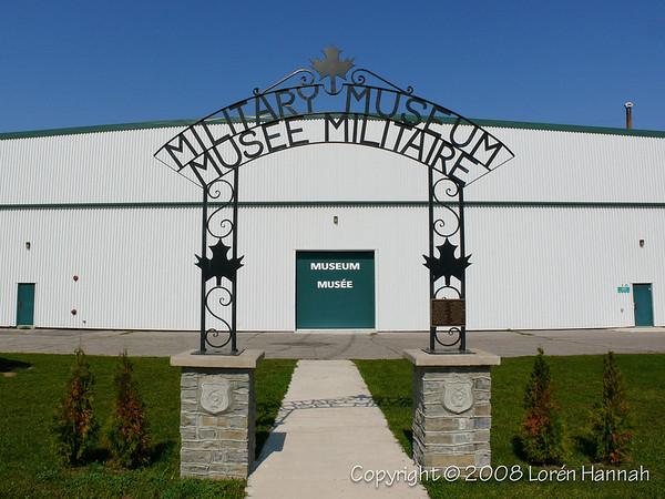 CFB Borden Museum Sign & Museum