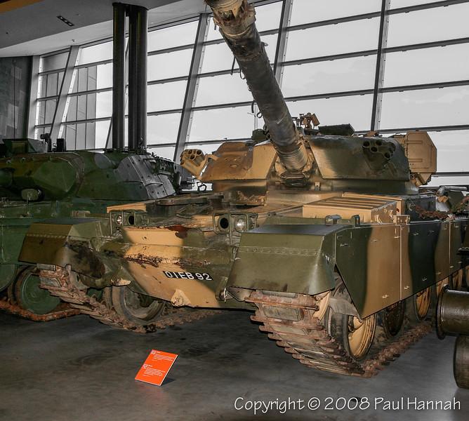 Chieftain Mk 11 VRN 01EB92 FROM BRITISH ARMY TRAINING UNIT SUFFIELD (BATUS) ALBERTA