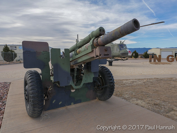 M2A2 105mm Howitzer