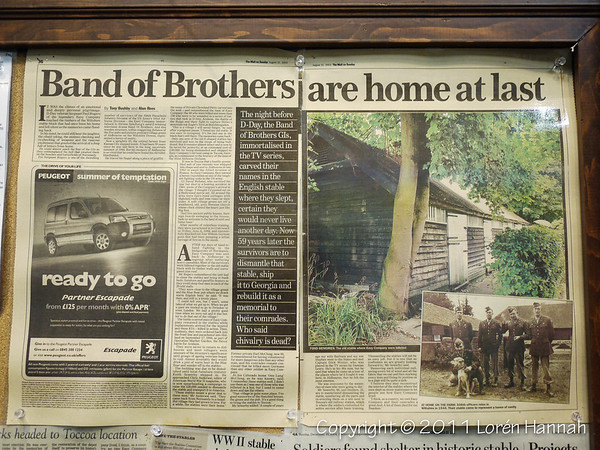 Newspaper stories