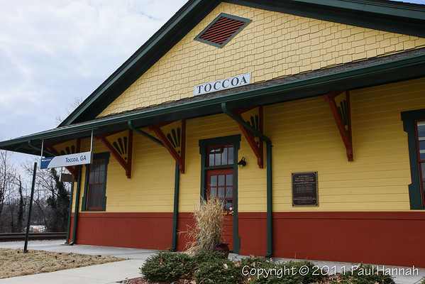 Toccoa Train Station