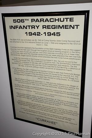506th PIR Plaque
