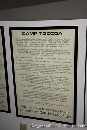 Camp Toccoa Plaque