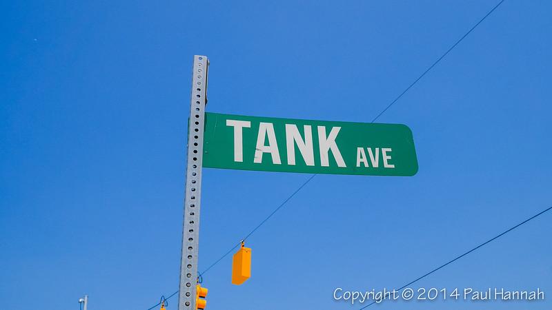 Corner Street Sign