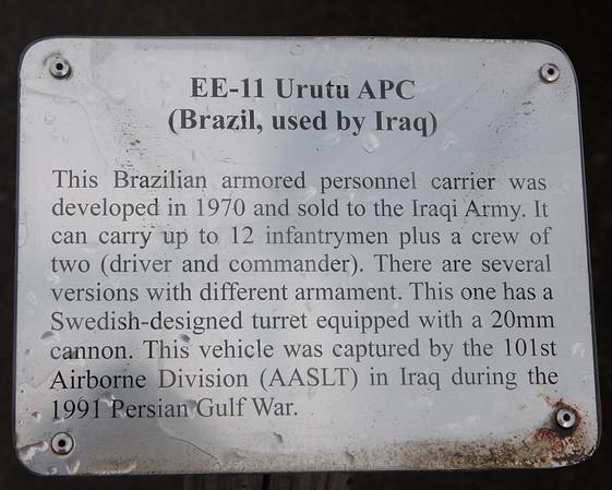 EE-11 Urutu Placard