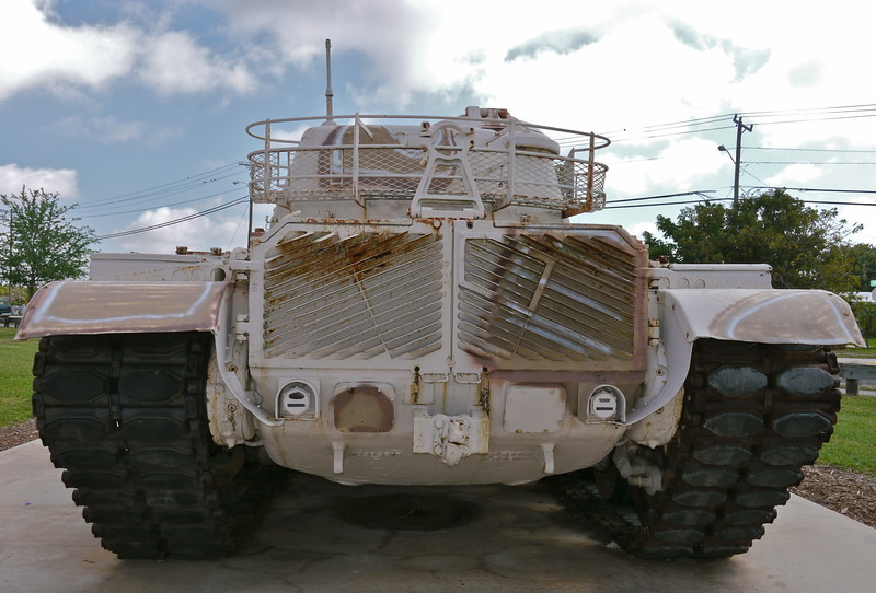 M60A3 rear