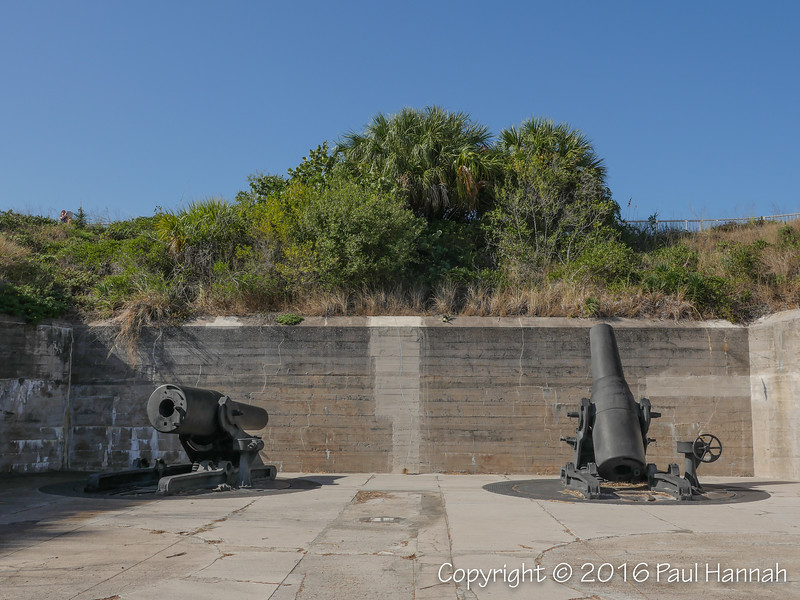 A pair of 12-inch Seacoast Mortars (Model 1890-M1)