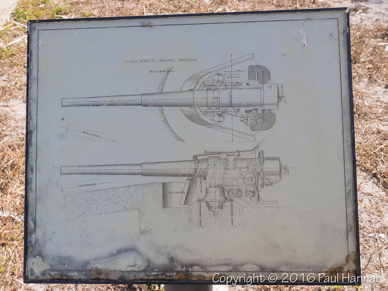 1898 6-inch Rapid Fire Armstrong Rifle Placard