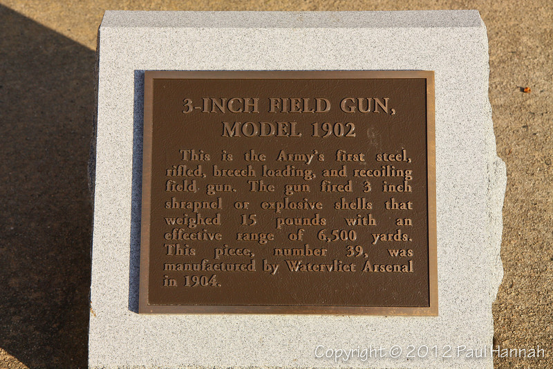 "M1902 3"" Field Gun  - 1 - 3717"