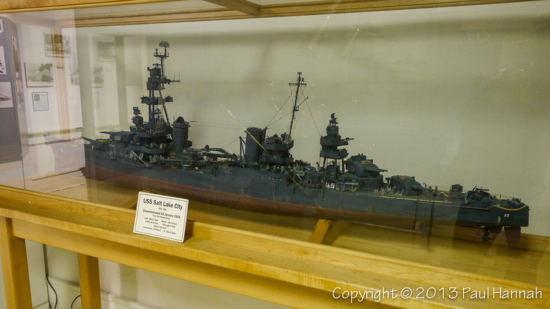 USS Salt Lake City Model - 1 - P1080759
