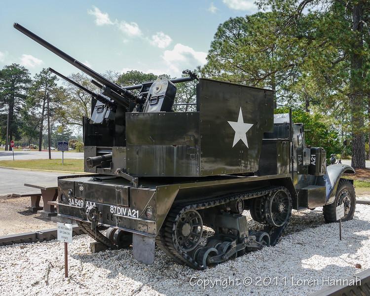 M15A1 Halftrack GMC SN 2156