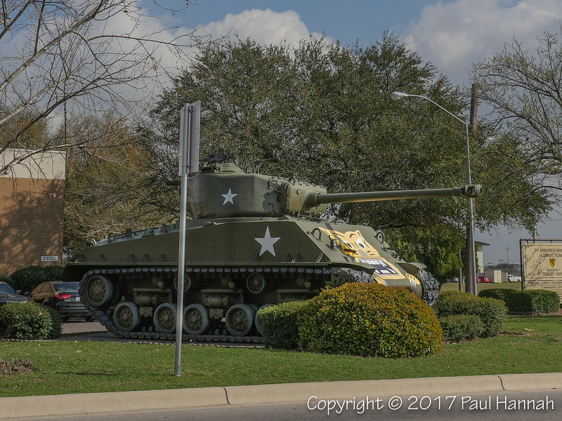 M4A3(76) HVSS - 3rd Brigade Combat Team Headquarters, 1st Cavalry Division, 62nd St and Battalion Ave