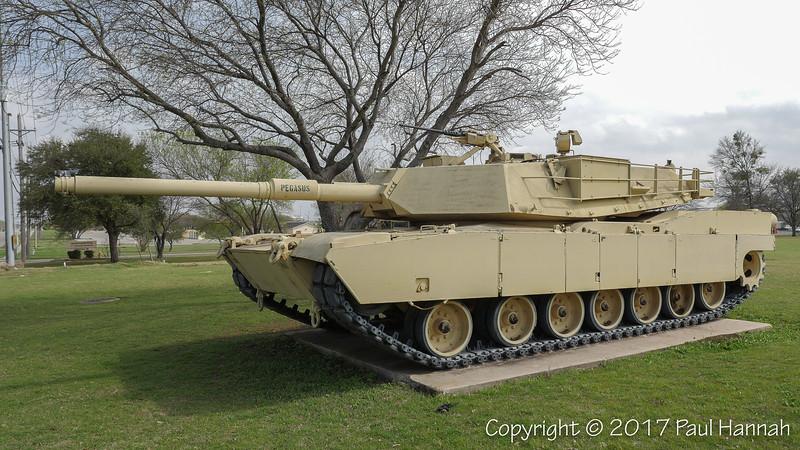 M1 Abrams - 1st Cavalry Division Parade Field & Korea Memorial