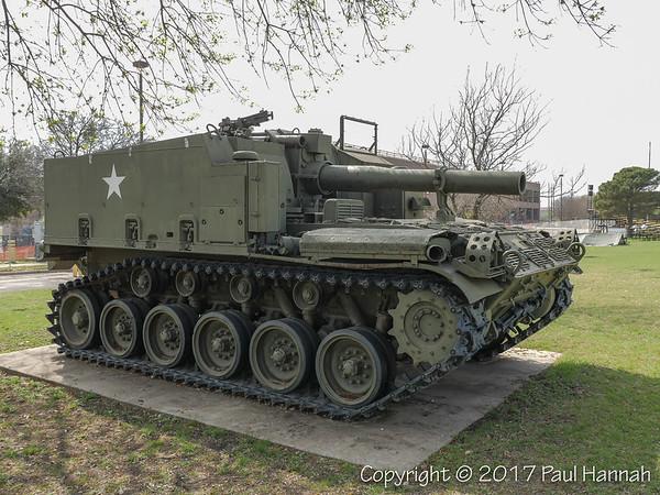 M-44 SPH - 1st Cavalry Division Parade Field & Korea Memorial