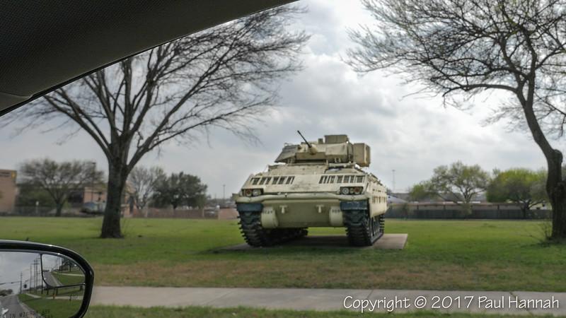 M3 Bradley -  1st Cavalry Division Parade Field & Korea Memorial
