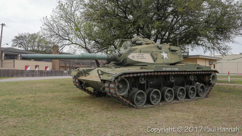 M60A3 SN 3293A, RN JJ01M5 - 19th Street & Battalion Road