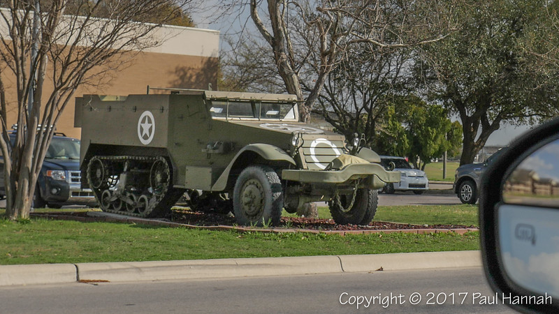 Halftrack - 3rd Brigade Combat Team Headquarters, 1st Cavalry Division, 62nd St and Battalion Ave