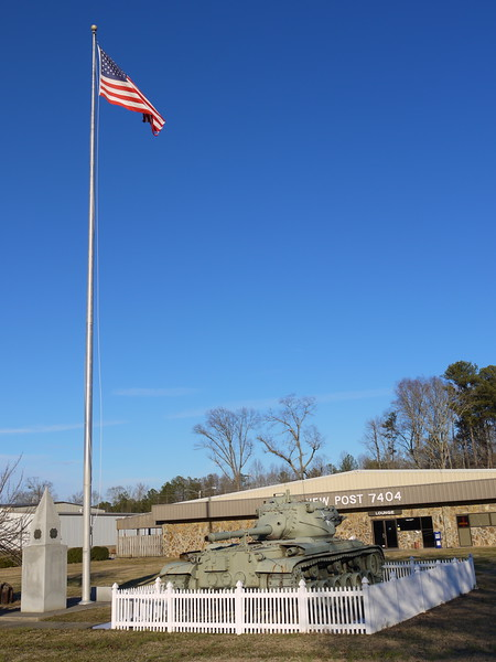 VFW Post - M47 - Flag 1