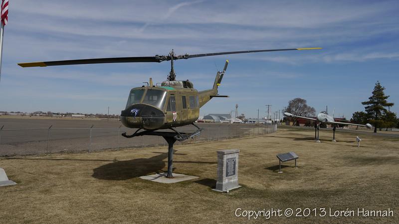 UH-1 Huey and T-33 - P1830460