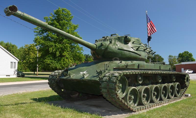 Millstadt, IL VFW Post #7980 - M47