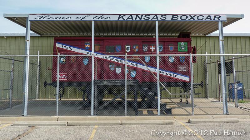 Kansas Merci Train Boxcar